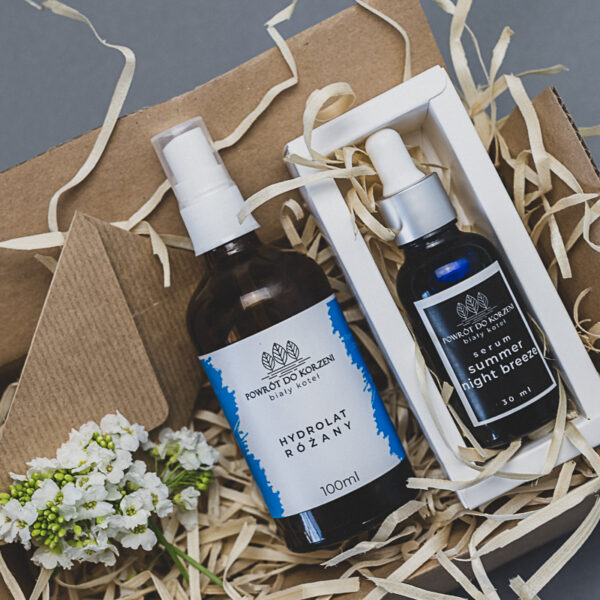 Zestaw kosmetyków naturalnych na prezent