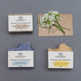 Zestaw kosmetyków naturalnych
