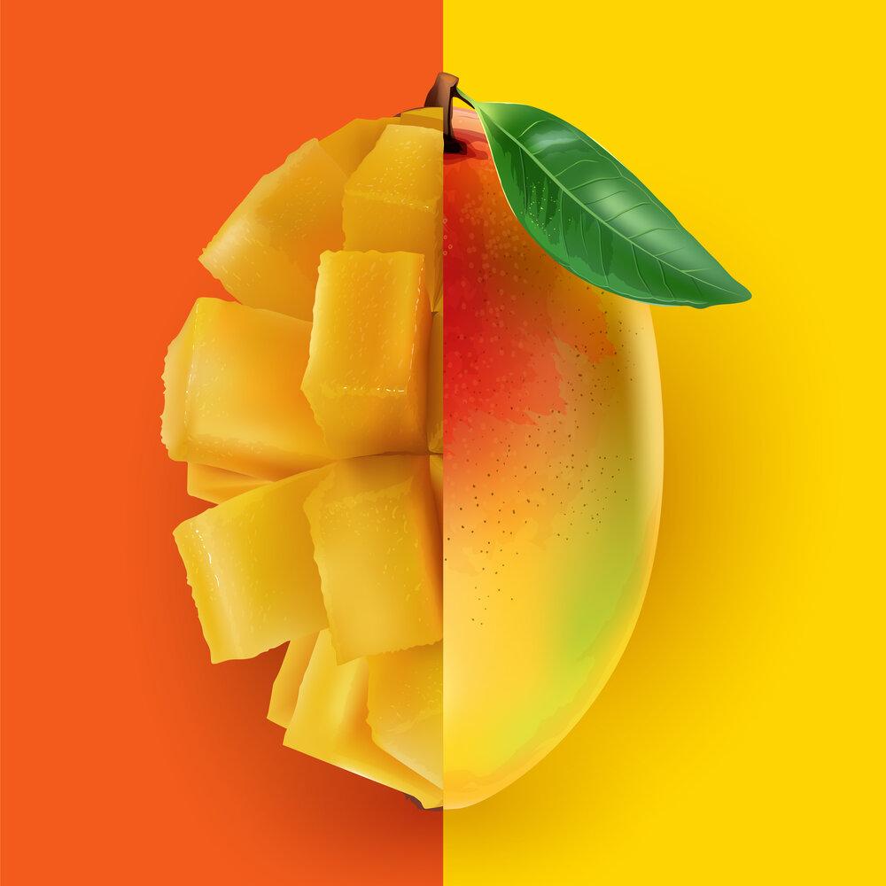 Mus mango z masłem mango