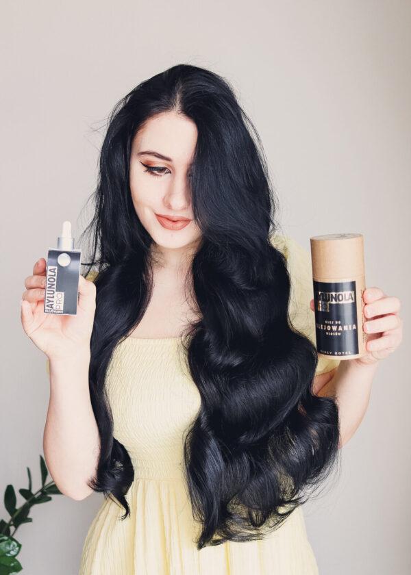 Biały Koteł x Aylunola Olej do Olejowania włosów