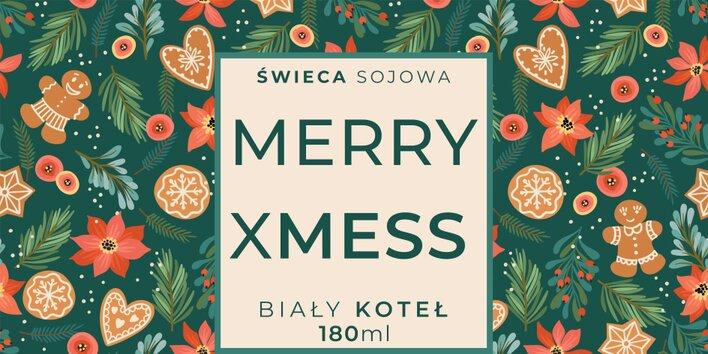 Świeca Sojowa Merry XMess