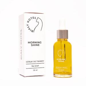 biały koteł serum do twarzy na dzień morning shine 30ml